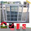 Ultima finestra del PVC 2016 e disegno della griglia di portello, doppia finestra lustrata di UPVC