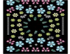 Autoadesivi impermeabili del chiodo degli autoadesivi di arte del chiodo della decalcomania di disegno del fiore