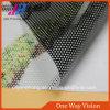 Vinil de sentido único material da visão do PVC