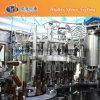 Maquinaria de relleno de pequeña capacidad de la cerveza de la botella de cristal