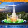 Fontaine colorée inoxidable de musique d'étage de multimédia