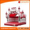 Rosafarbene aufblasbare Prinzessin Camelot Jumping Bouncy Castle für Verkauf (T2-001)