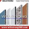 Façade en aluminium de panneau de nid d'abeilles de Willstrong