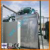Petróleo usado que recondiciona o preto da mudança ao petróleo Waste amarelo que recicl a máquina