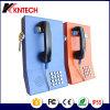 Audição - do telefone público da linha de apoio a o cliente do telefone telefone Emergency danificado