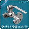 JIS Standard10k flanschte Einteiler /1 Stück-Kugelventil