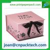 Коробка цветастого узла бабочки тесемки сатинировки бумажная
