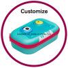 Kundenspezifischer Plastikhölzerner Magnet-Farben-Bleistift-Papierkasten
