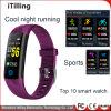 Moda Fitness Regalos Pulsera Reloj inteligente con Bluetooth seguimiento deportivo Impermeable IP68 fresco de la noche, correr, nadar en el agua, senderismo, montar a caballo, escalada