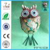 Polyresin Owl Solar Light pour décoration de jardin