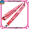 Customer Logo Print/Wovern를 가진 폴리에스테 Lanyard
