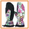 Полная перчатка лыжи перста с печатью художественного произведения (10212)
