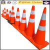 900mm PVC Traffic Cones with Orange Base