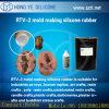 Rtv-2 handVorm die Silicone maken die Vloeibaar Silicone vormen