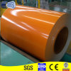 La couleur orange a enduit enduit bobine en acier galvanisée/Galvalume