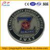 Moneda de encargo 5 del desafío del metal de la insignia