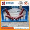 Центрирование лентопротяжными роликами для трубопровода цепного транспортера