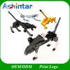 Da movimentação ativa encantadora do flash do USB do modelo do cão do robô vara plástica do USB