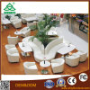 Hochwertige Esszimmer-Speisetisch-und Stuhl-italienische Luxuxart für Parteien