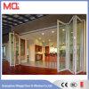 Puerta Bifold de aluminio de China con el vidrio Tempered