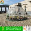 2017 Nuevo fabricante domo geodésico jardín invernadero Igloo para uso exterior