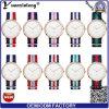 Il quarzo casuale degli uomini delle donne di NATO della vigilanza del vestito dall'orologio delle signore di promozione Yxl-229 della cinghia di sport di nylon di buona qualità guarda il marchio dell'OEM