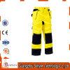 Hohes Sicht-Sicherheits-Arbeits-Gelb-reflektierende Hosen