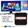 Smart TV Amlogic S905 Kodi 17.0 Bluetooth 4.0 Android 6.0 Tvbox com SATA HDD 2.5 Construído em Google TV Box