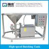 Edelstahl-Puder-Wasser-Mischer-Maschinen-Emulsionsmittel-stapelweise verarbeitende Mischmaschine