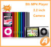 5th Generation 2.2 inch MP4 Player with Camera