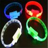 Изготовленный на заказ браслеты печатание СИД проблескивая
