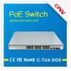 2 Gigabit Tp/SFP Combo Ports、802.3af Power Standardの24 PortsのセリウムApproved 24ポートPoe Switch