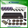 8 canales H.264 DVR sistema de cámara CCTV de interior / exterior (BE-8108V4ID4RI42)