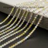 Rhinestones Cup cadena con accesorios de prendas de vestir Garra de plata