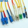 Sm Mm Duplex Simplex Duplex LC / Sc / St / FC Cable de conexión de fibra óptica