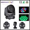 RGBW Prolights bewegliches Erscheinen-Licht-Wäsche-lautes Summen der Kopf-19*15W