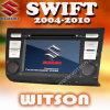 Lettore DVD dell'automobile di Witson con il GPS per Suzuki rapido (2004-2010) (W2-D763X)