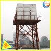 GRP de plástico reforçado com reservatório de água para água potável 1000-10000litro