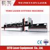 Acero inoxidable de 1000W Máquina de corte láser de fibra para la elaboración de metales