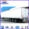 14meters 3axle Aluminum Van Type Truck Seeds Trailer