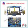 プラスチック網袋の回状の織機