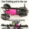 Heißer Verkaufs-neue Art, die elektrischen Roller mit 3 Rädern faltet