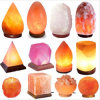 多彩で自然で否定的な空気イオン装飾の健康の塩ランプ