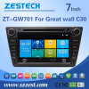 만리장성 C30를 위한 Zestech 차 DVD GPS 다중 매체