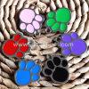 Etiquetas conocidas del perro de encargo del metal del surtidor del animal doméstico de China