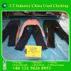 Großhandelsschiebt ballen-Winter verwendete Kleidung dick Material-Sport-Hosen mit Form-Entwurf