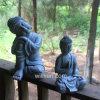 人工Polyresinはホーム装飾に仏の彫像を坐らせる考えの樹脂を制作させる