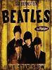 Decoração de parede de madeira Vintage sinais Beatles All Star mostrar