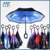 C 손잡이로 거꾸로 하는 방풍 반전 우산