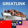 محاطة نقل من الصين إلى [كوتا] [كينبلو], ماليزيا